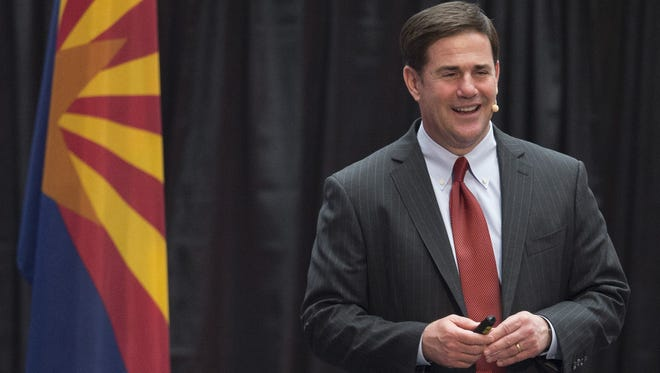 Gov. Doug Ducey is selling off state planes while paring down hangar contracts and other equipment expenses.