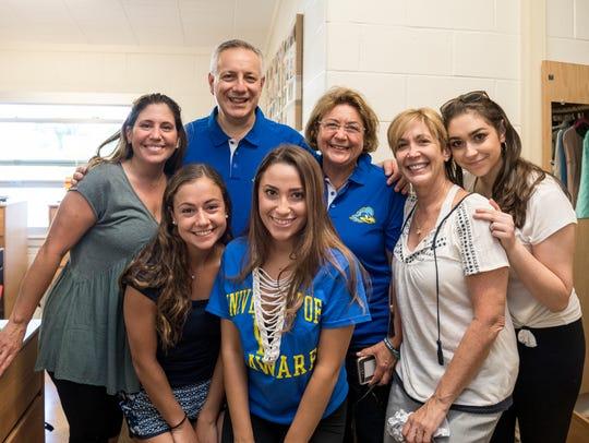 University of Delaware President Dennis Assanis and
