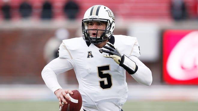 Central Florida quarterback Blake Bortles.