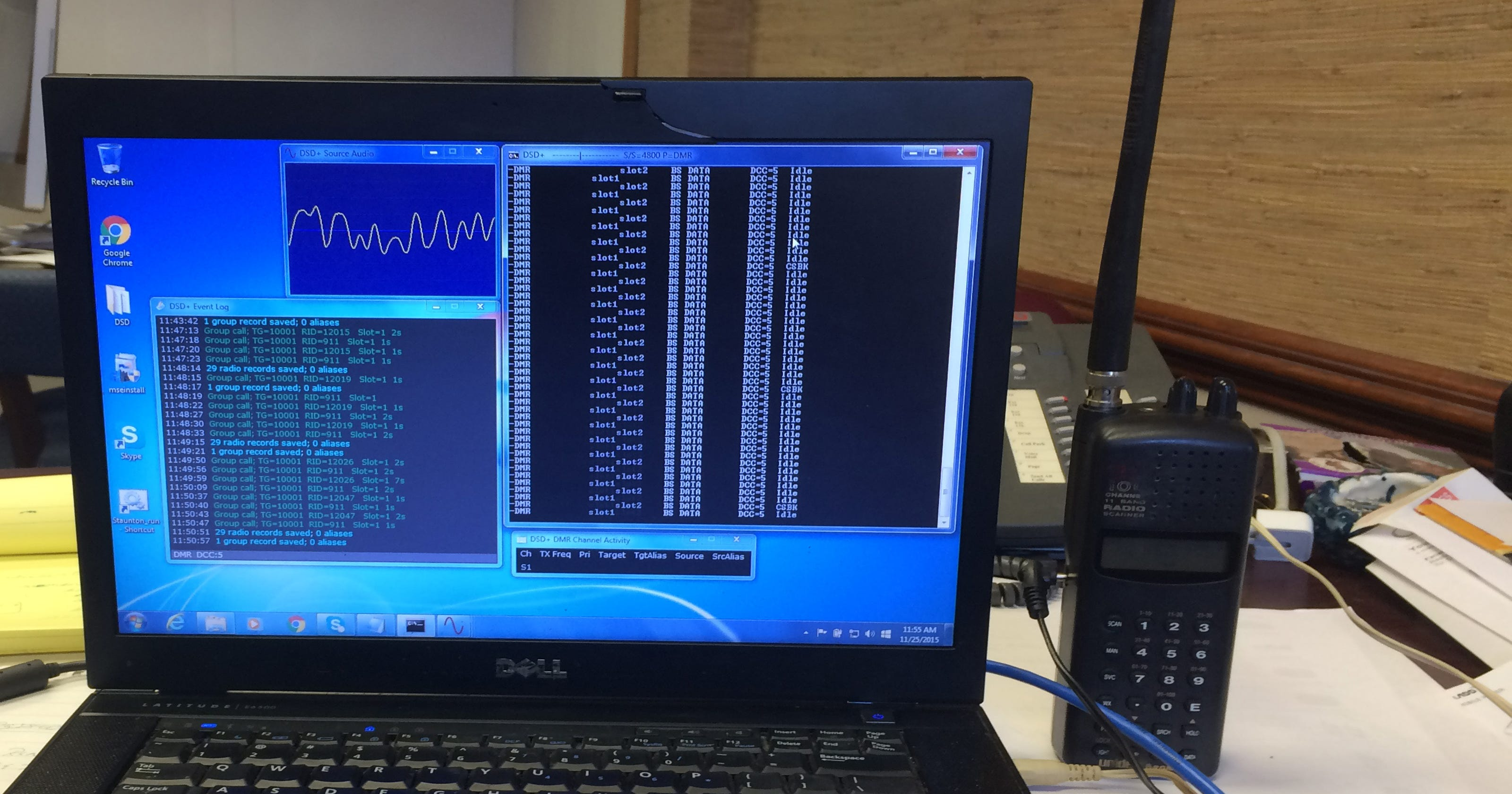Cracking the Staunton police scanner code