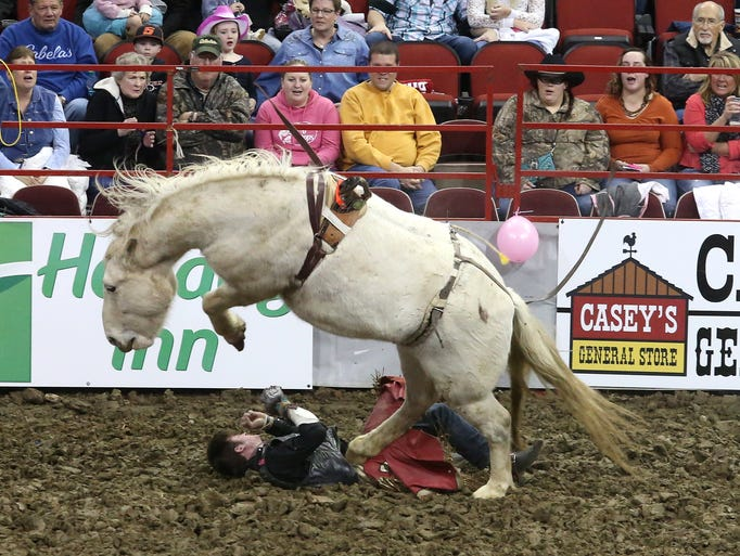 13 Photos Bareback Riding At The Worlds Toughest Rodeo