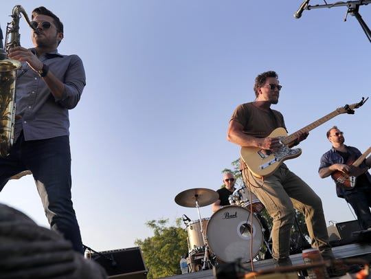 Kyle Megna and the Monsoons are among the bands who'll play the Future Neenah Evening Concert Series this summer. The schedule was announced Thursday.