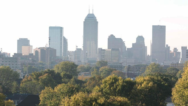 Metropolitan Indianapolis accounted for nearly 40 percent of the state's economy in 2015.
