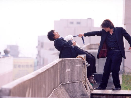 """""""Oldboy"""" (2003) is adapted from a Japanese comic."""