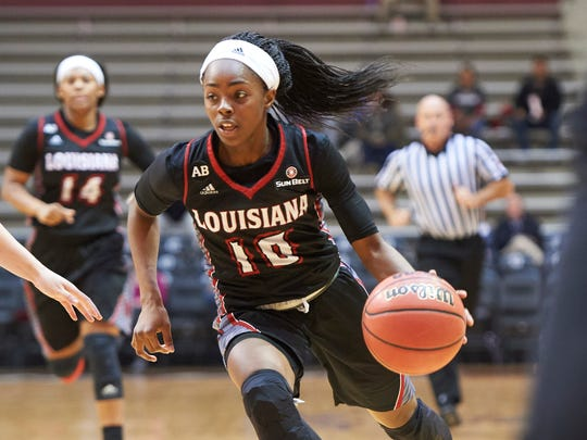 UL guard Kia Wilridge enters the stretch drive of her four-year college career in New Orleans beginning Wednesday.
