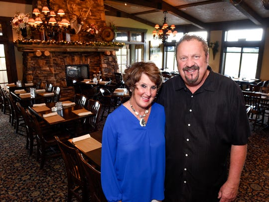 Mar and Mike Dols, pictured here in the dining area of their restaurant, Coyote Moon Grille, took home the Best Overall Restaurant award in 2017.