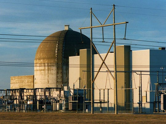 Wolf Creek power plant in New Strawn, Kan., is shown