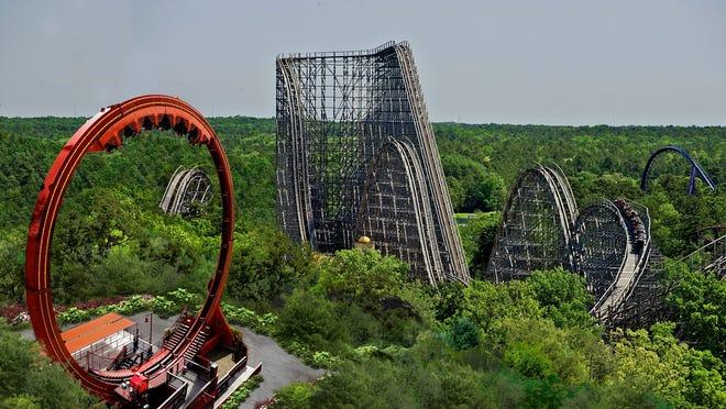 El Diablo is the park's 13th roller coaster.