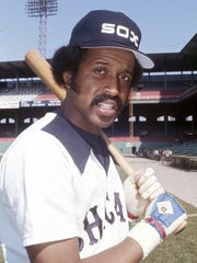Oscar Gamble FILE - In this April 11, 1977, file photo, Chicago White Sox baseball player Oscar Gamble poses.  Gamble, an outfielder who hit 200 home runs over 17 major league seasons, died Wednesday, Jan. 31, 2018, of a rare tumor of the jaw. He was 68. (AP Photo/CEK, File)