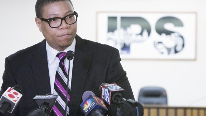 IPS Superintendent Lewis Ferebee said the partnership between IPS and Marian University over a training program for school principals and administrators is a good example of what can be accomplished when higher education and K-12 schools cooperate.