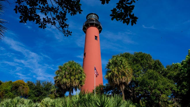 A maintenance and painting project has been completed on the Jupiter Lighthouse in Jupiter on November 18, 2019.