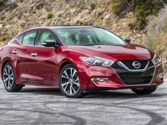 The 2018 Nissan Maxima finished second in the vehicles
