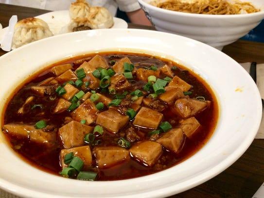Ma Pa Tofu at Chuan Cafe