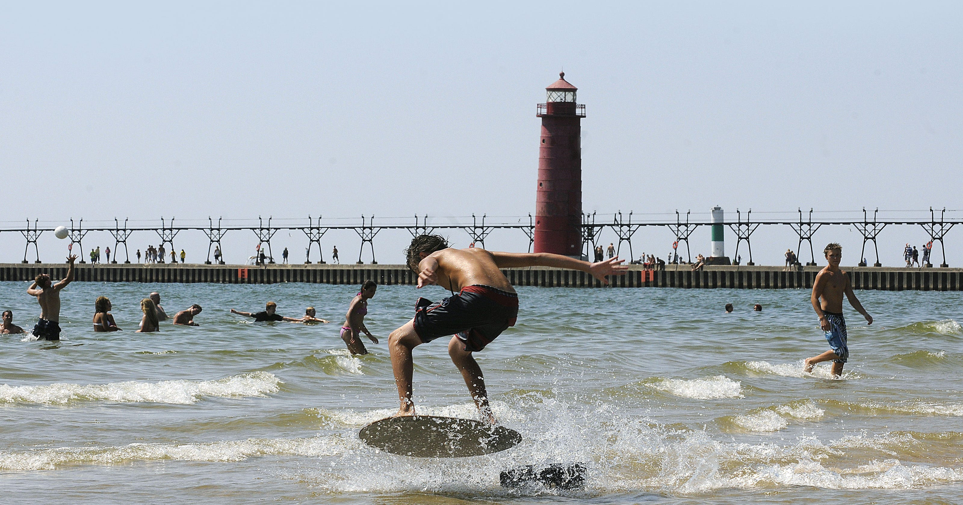 . Grand Haven pier reopens after 2 year construction