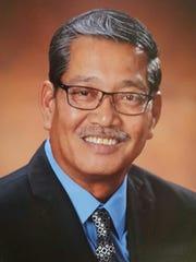 Official portrait of Senator Joe S. San Agustin
