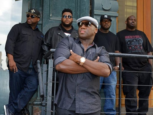 Big Sam's Funky Nation will headline the Highland Jazz and Blues Festival on Sept. 14 at Columbia Park in Shreveport.