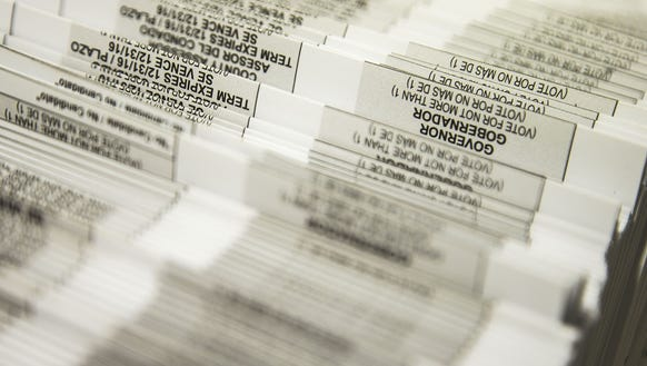Hundreds of thousands of early voting ballots gets