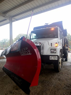 The City of Jackson has salt trucks prepared to take to the streets in the event of winter weather.