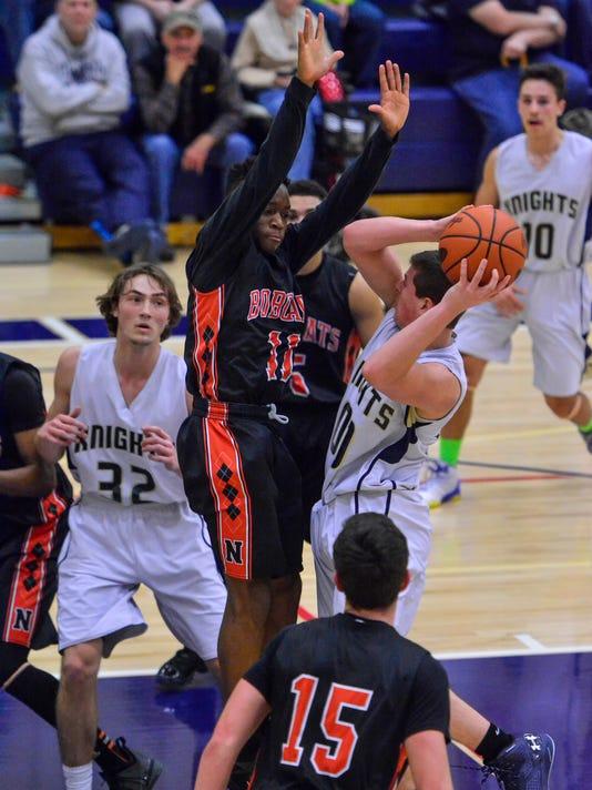 PHOTOS: Northeastern vs Eastern York boy's basketball