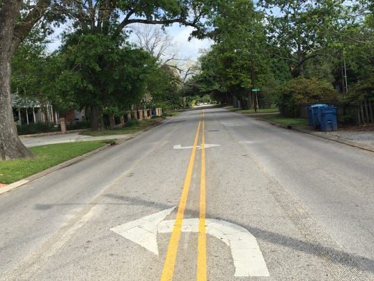St. Mary Boulevard turn lane removed