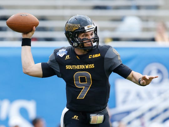 Southern Miss quarterback Nick Mullens threw for 4,476
