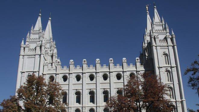 Historic places in Salt Lake City blend with other pristine architecture.