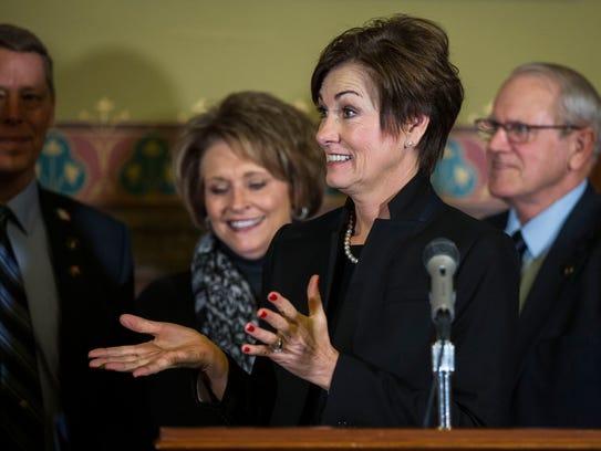 Kim Reynolds, Governor of Iowa