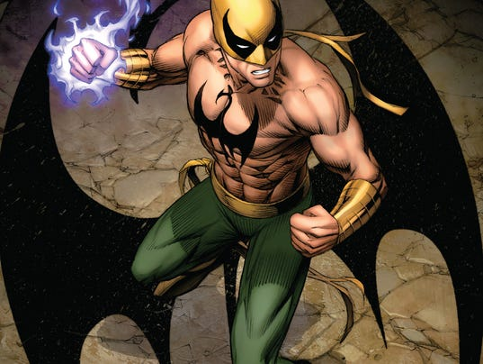 Iron Fist cover