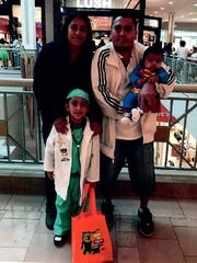 Matias Ortega-Rosales and family