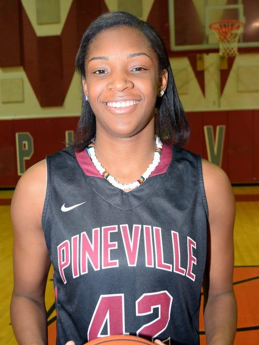 Pineville's Danyale Bayonne has been chosen as All-Cenla MVP.