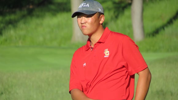 Englewood Cliffs' Dan Yam just missed advancing to