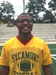 Sycamore senior running back Ra'Von Bonner ran for 1,429 yards and 27 touchdowns as a junior.