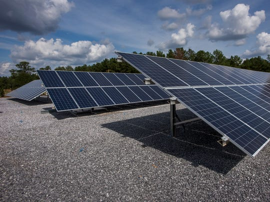 The Solar Research Park that was dedicated at Alabama
