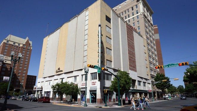 A proposed plan would put a Wyndham hotel brand in the mostly vacant American Furniture building at 105 N. Oregon St., in Downtown El Paso.
