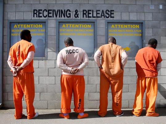 California prison receiving