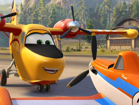 Review: 'Planes: Fire and Rescue'