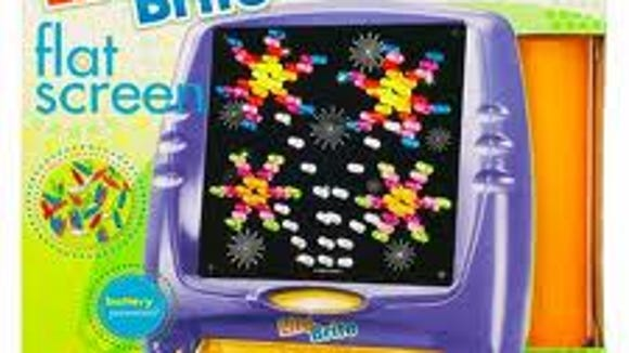 The new flat screen Lite-Brite