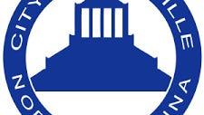 Asheville city hall logo.
