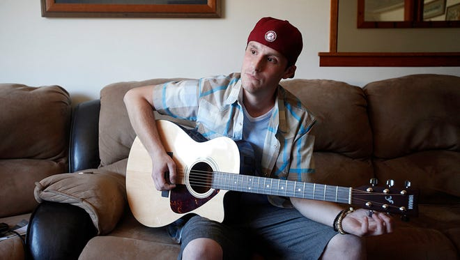 Chris Ward has used music as a coping mechanism throughout his life, in the midst of his heroin addiction and now through his recovery.