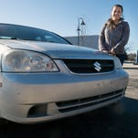 Car found with 1 1/2 pounds of pot is her gain, his loss in York County auction