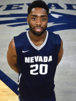 Ugo Amadi joined the Wolf Pack as a walk-on this season.