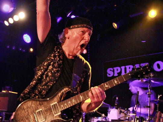 Longtime Jethro Tull guitarist Martin Barre is playing