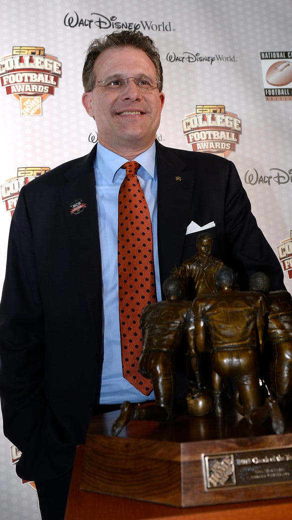 Gus Malzahn Home Depot Coach of the Year