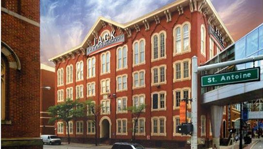 Dan Gilbert's Jack Entertainment, formerly known as Rock Gaming LLC, announced they'll move their headquarters into a vacant 1868 school in Detroit's historic Greektown.