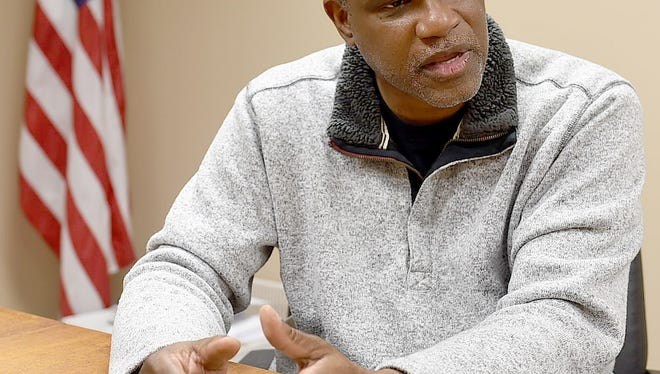 Opelousas Mayor Reggie Tatum, in this file photo, discusses the city budget and his first two years in office with plans for the future.