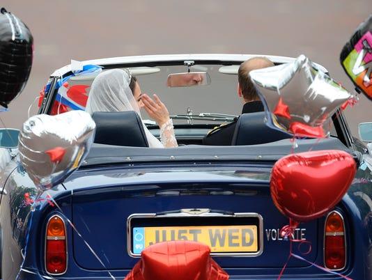 AFP BRITAIN-ROYALS-MARRIAGE I RYE GBR GR