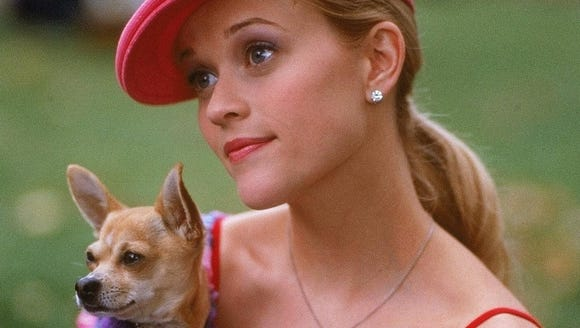 Reese Witherspoon in a scene from the 2001 motion picture,