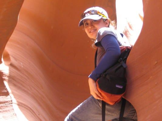 Denise Thiem was a world traveler