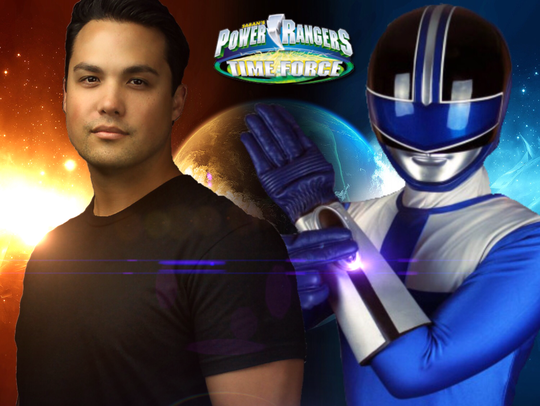 """Actor Michael Copon of """"Power Rangers: Time Force"""""""
