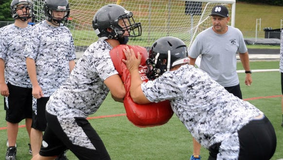 North Buncombe football coach Curtis Cagle has resigned,